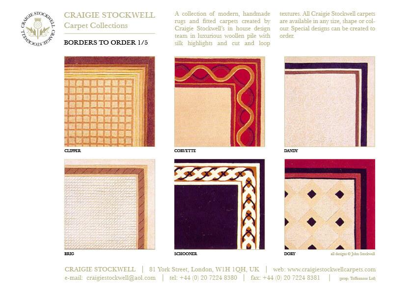 Catalogue Borders