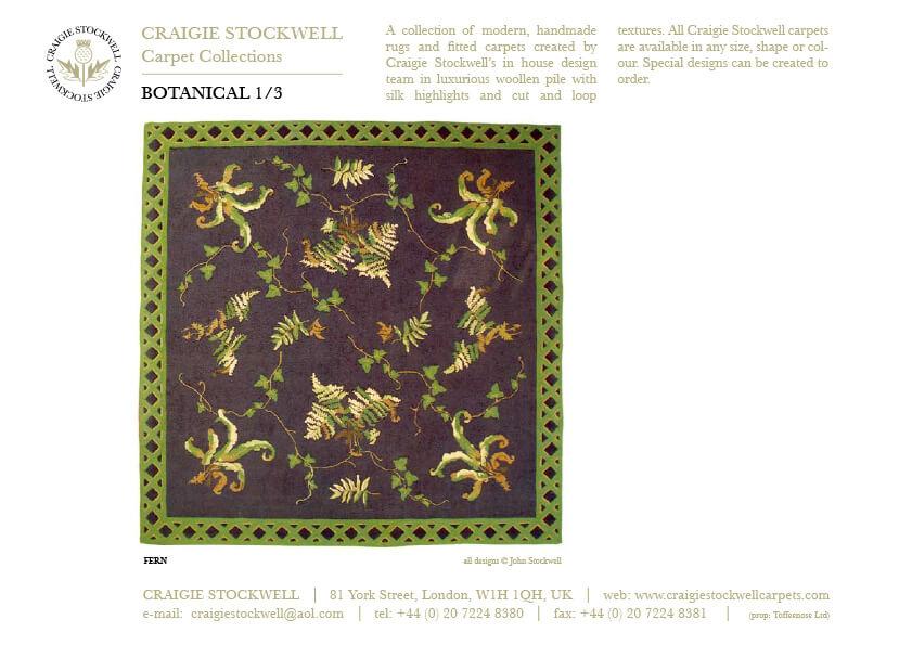 Catalogue Botanical