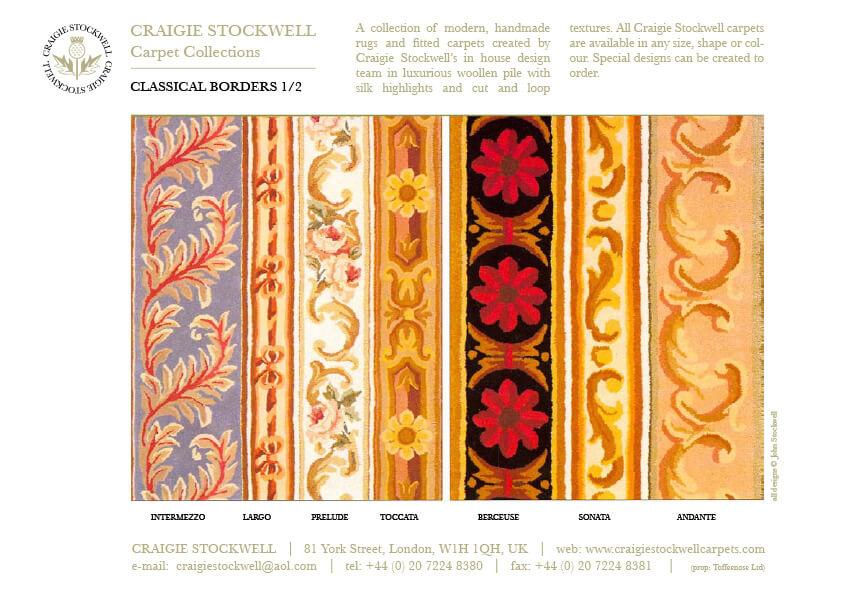 Catalogue Classical Borders