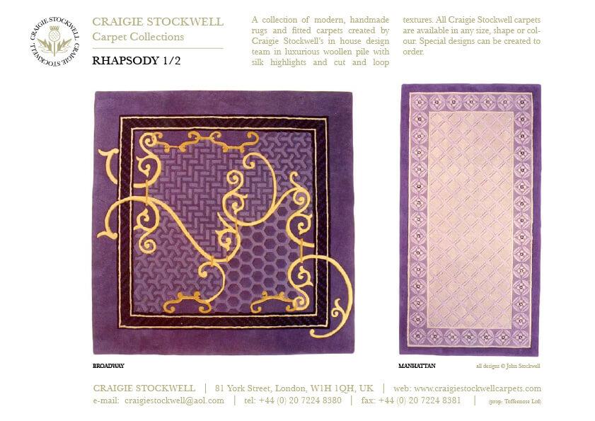 Catalogue Rhapsody