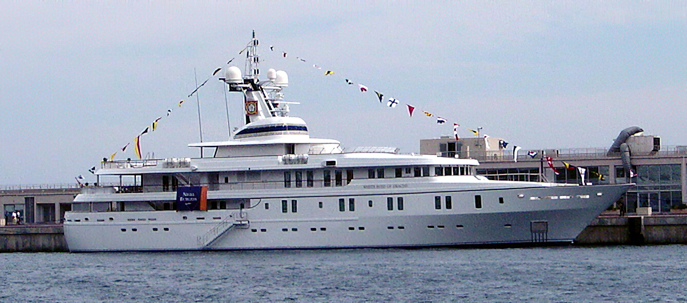 M/Y White Rose of Drachs. I took this photograph of the handsome 64m Superyacht in Monaco during the Yacht Show