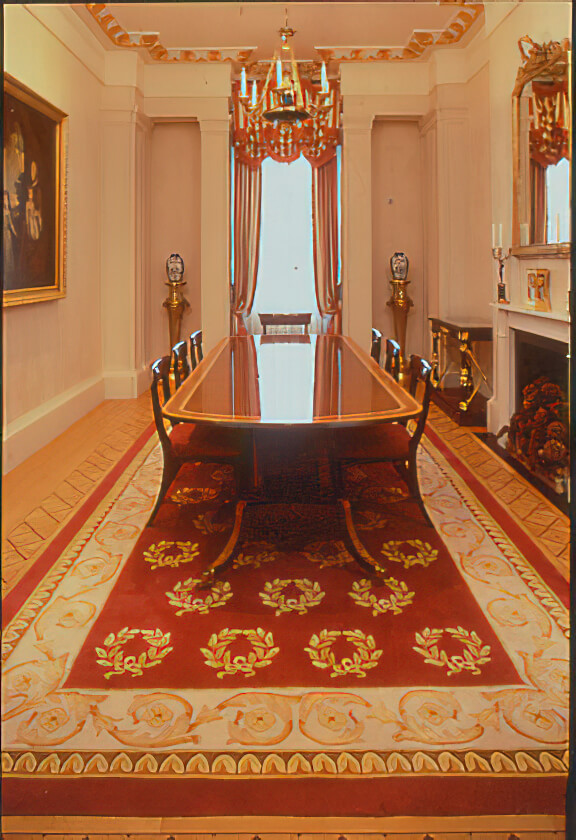 An Empire style rug created by Rob Holmes Craigie Stockwell