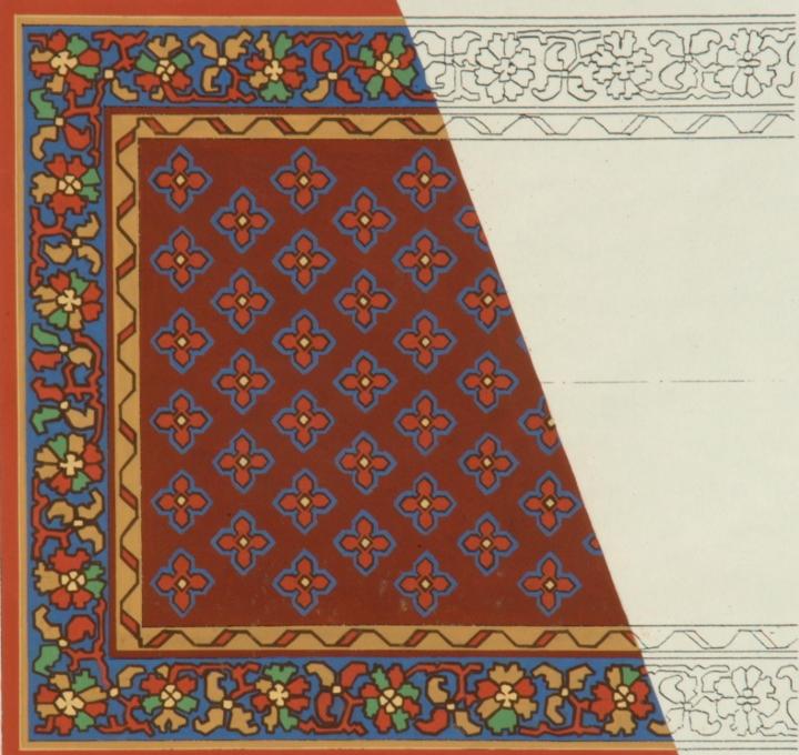 Borders Designs | Harvington Hall
