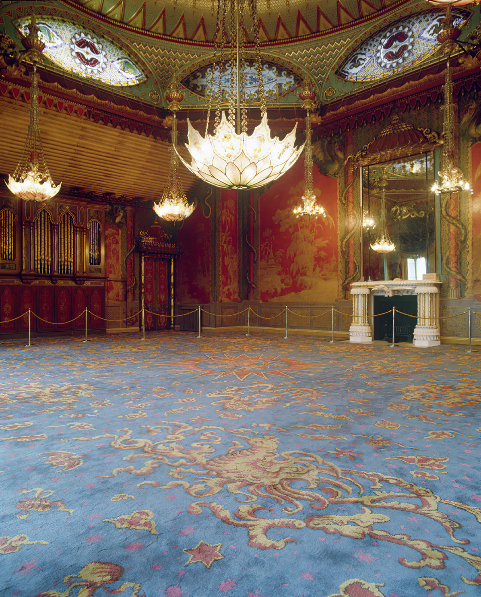 The Music Room at The Royal Pavillion in Brighton