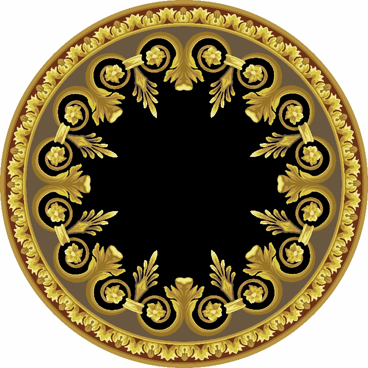 Circular and Shaped Designs | Castle Howard 2