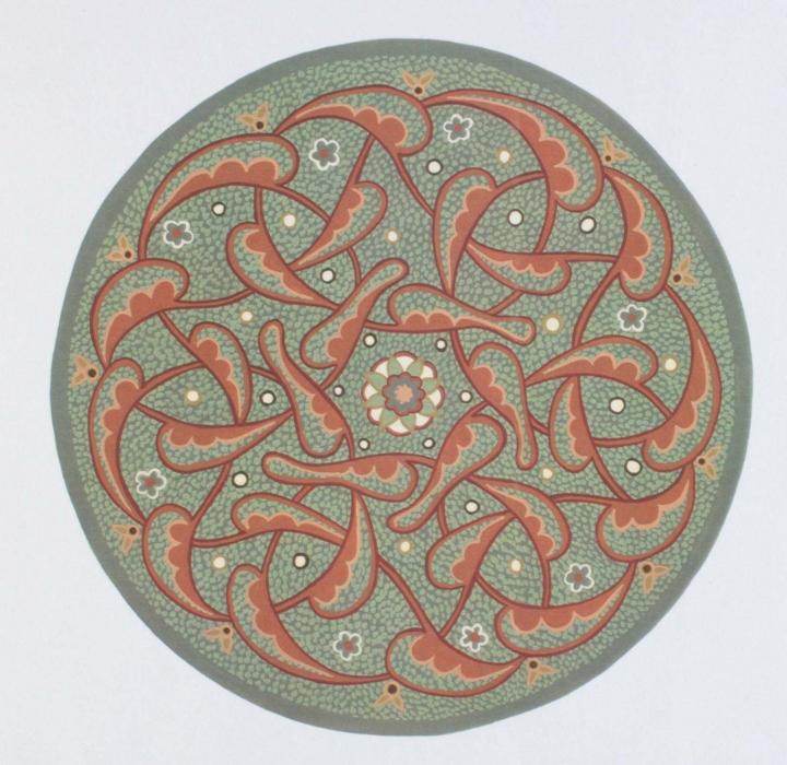 Circular and Shaped Designs | Hot Amethyst