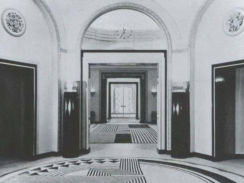 Claridge's Ballroom by Marion Dorn