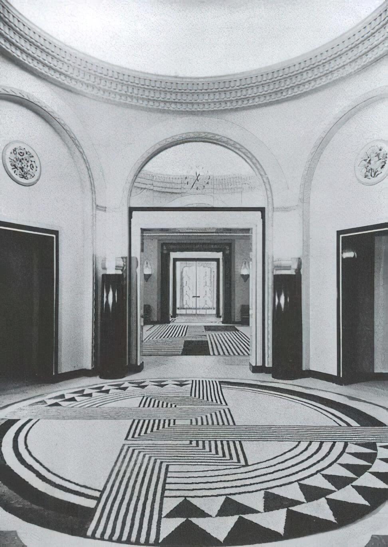 Claridge's Ballroom by Marion Dorn-x2