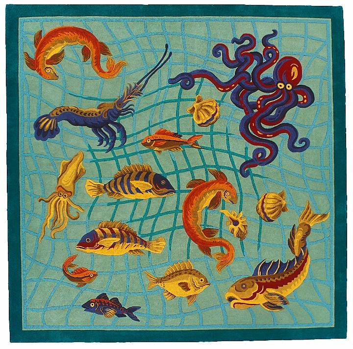 Modern Designs | Fish Rug