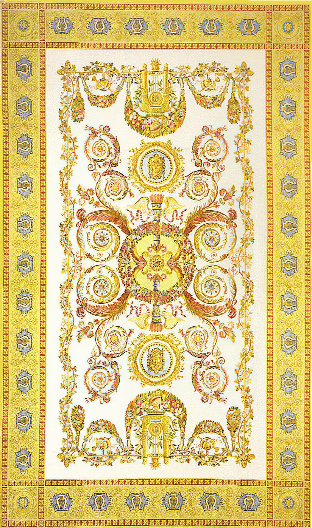 Savonnerie Carpet - Craigie Stockwell