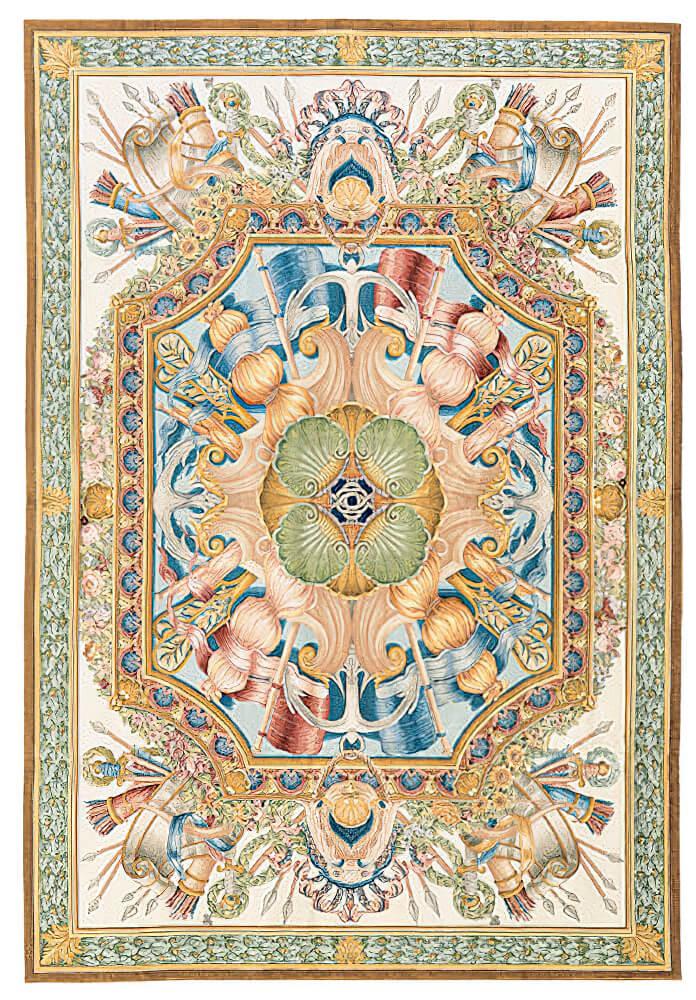 Savonnerie-Carpet- - Craigie Stockwell