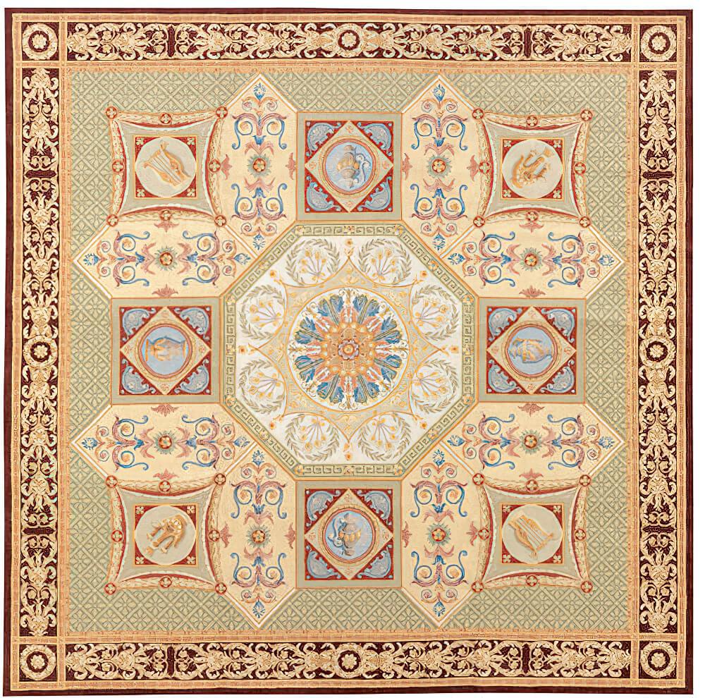 Savonnerie-Carpet - Craigie Stockwell