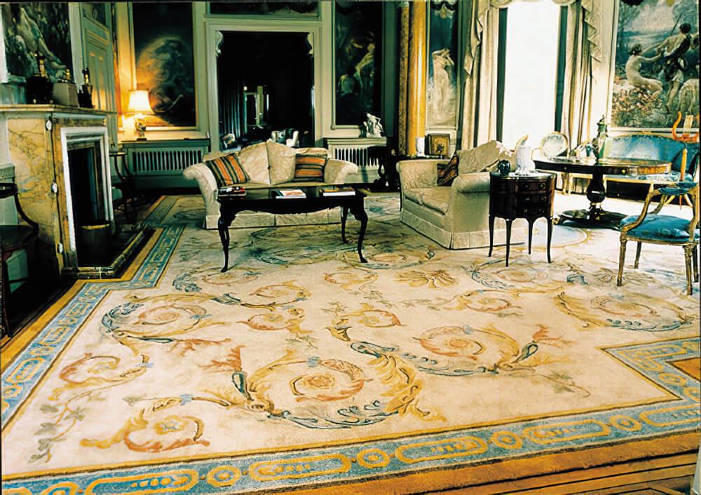 Savonnerie style carpet Craigie Stockwell
