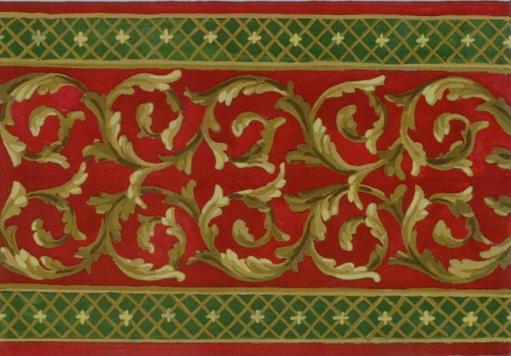 Scrolls Designs | Woburn Abbey 1